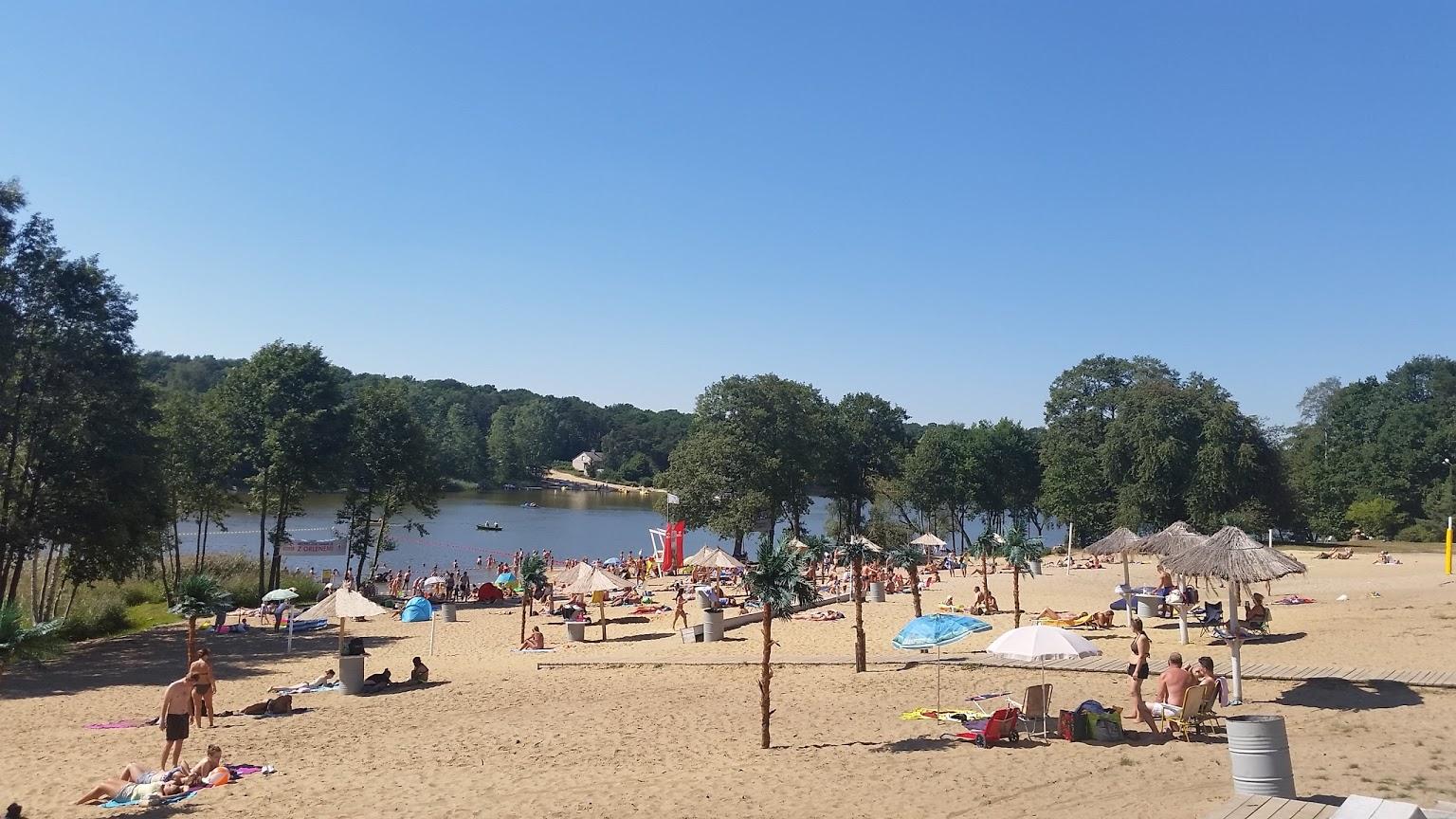 Góra Plaża Patelnia w Grabinie nad Jeziorem Górskim - plaża na plazujemy.pl MU94