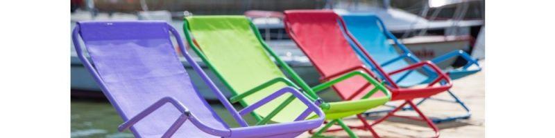 Leżaki plażowe - na które się zdecydować?