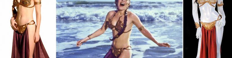 Oryginalne bikini Księżniczki Lei do kupienia na aukcji