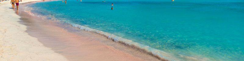 Elafonisi - plaża z różowym piaskiem