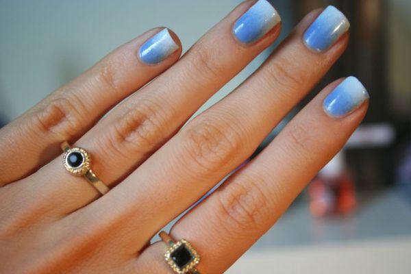 Jak zrobić manicure ombre na paznokciach domowym sposobem?