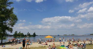 Sudecka Plaża w Bielawie nad Jeziorem Bielawskim