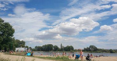 Plaża w Jaworze nad Zalewem Jawornik