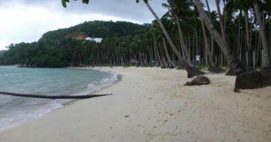 Las Cabanas Beach, El Nido, Filipiny
