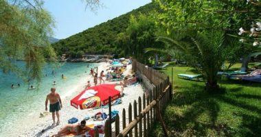 Agia Paraskevi Beach, Sami, Grecja