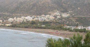 Pachia Ammos Beach, Paleochora, Grecja