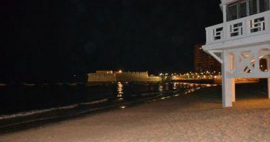 La Caleta Beach, Kadyks, Hiszpania
