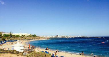 Playa Dorada Beach, Playa Blanca, Hiszpania
