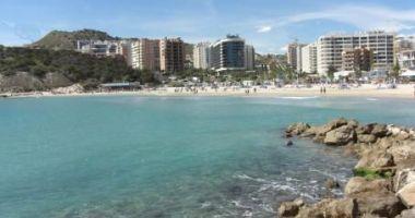 Cala Finestrat Beach, Finestrat, Hiszpania