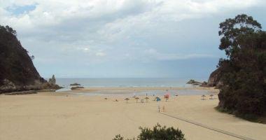 Beach of La Franca, La Franca, Hiszpania
