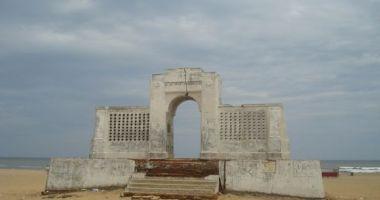 Besant Nagar Beach, Ćennaj (Madras), Indie