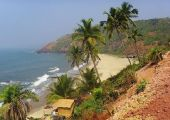 Palolem, Canacona (Goa), Indie