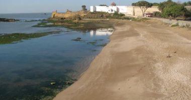Jallandhar Beach, Diu, Indie