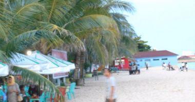 Melawai Beach, Balikpapan, Indonezja