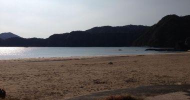 Sumie Beach, Nobeoka, Japonia