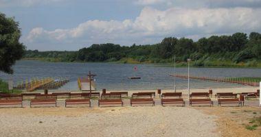 Plaża GOSIR w Wilczynie nad Jeziorem Wilczyńskim