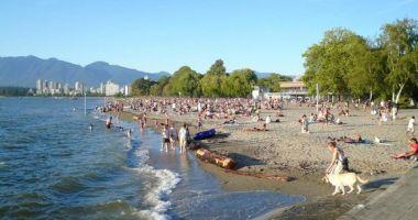 Kitsilano (Kits) Beach, Vancouver, Kanada