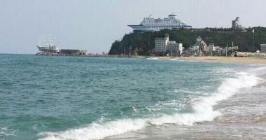 Jeongdongjin Beach, Gangneung, Korea Południowa