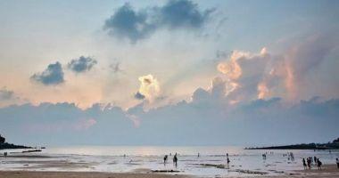 Eurwangni Beach, Incheon, Korea Południowa