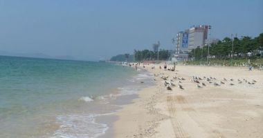 Dacheon Beach, Boryeong, Korea Południowa