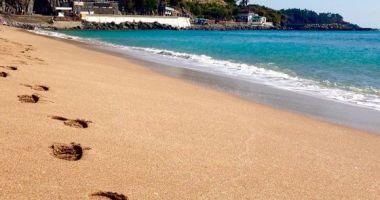 Jungmun Saekdal Beach, Seogwipo, Korea Południowa