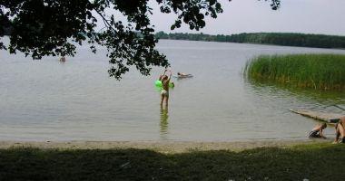 Plaża w Głuszynku nad Jeziorem Głuszyńskim