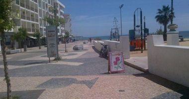 Armacao de Pera Beach, Albufeira, Portugalia