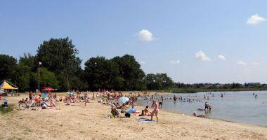 Plaża OSiR nad Zalewem Miejskim w Zamościu