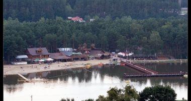 Plaża nad Zalewem w Krasnobrodzie