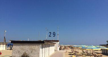 Bagno 29 Palm Beach, Rimini, Włochy