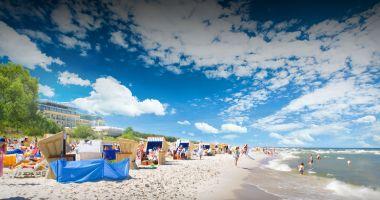 Plaża w Juracie nad Morzem Bałtyckim