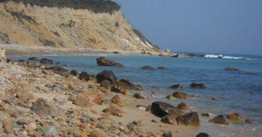 Crescent Beach / Fred Benson Town Beach, New Shoreham, Stany Zjednoczone
