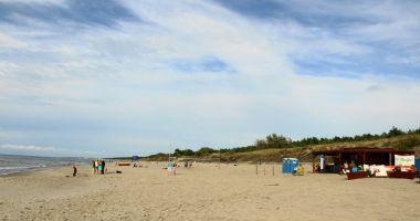 Plaża w Nowej Karczmie, Piaskach nad Morzem Bałtyckim
