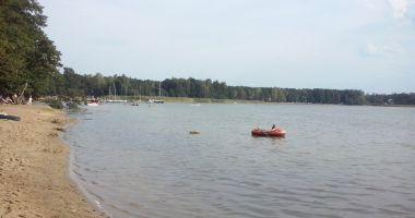 Plaża w Żyrardowie nad Zalewem Żyrardowskim