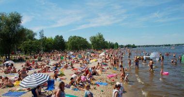 Dzika Plaża w Nieporęcie nad Zalewem Zegrzyńskim
