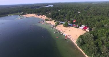 Kąpielisko w Skorzęcinie nad Jeziorem Niedzięgiel