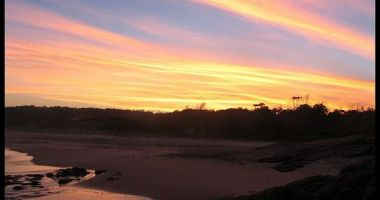 Las Achiras Beach, Rocha, Urugwaj