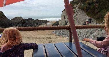 Barricane Beach, Mortehoe, Woolacombe, Wielka Brytania