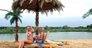 Plaża Akwen Tropicana w Żwirowni Owińska