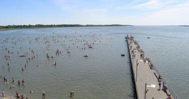 Kąpielisko w Zieleniewie-Morzyczynie nad Jeziorem Miedwie