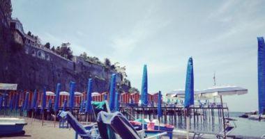 Leonelli's Beach, Sorrento, Włochy