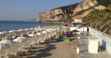 Vittoria Beach, Finale Ligure, Włochy
