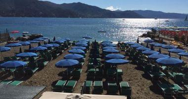 Minaglia Beach, Santa Margherita Ligure, Włochy