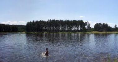 Plaża nad Zalewem w Jacni