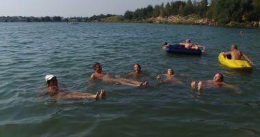 Plaża naturystów w Kryspinowie nad Zalewem na Piaskach