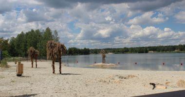 Plaża Tropicana w Mielcu nad Żwirownią w Rzochowie