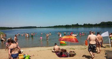 Plaża w Teodorowie nad Jeziorem Orłowskim
