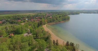 Plaża Miejska w Ińsku nad Jeziorem Ińsko