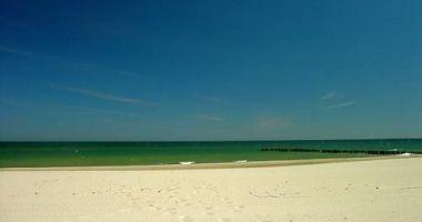 Plaża naturystów w Chałupach nad Morzem Bałtyckim