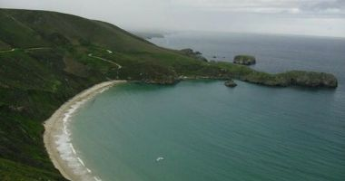 Playa de Torimbia, Nueva de Llanes, Llanes, Hiszpania